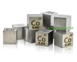 Cobalt metal density cube 99.99%