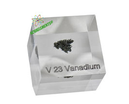 Vanadium BIG crystal acrylic cube