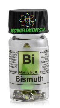 Bismuth metal crystal 99.99% fulfilled vial