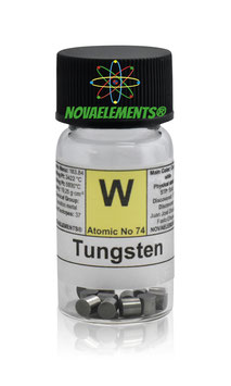 Tungsten metal pellets 5 grams 99.99%