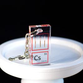 Cesium keychain