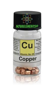 Copper metal shots 5 grams 99.99%