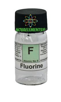 Fluorine 99% in quartz ampoule