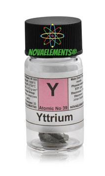 Yttrium metal 1 gram shiny piece 99.95%