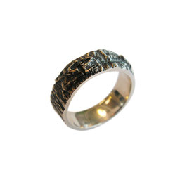 Hout structuur ring 1