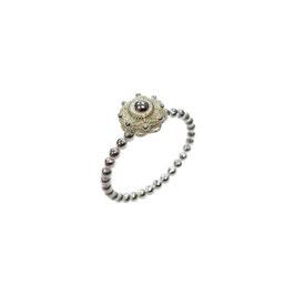 Zeeuwse knoop ring zilver