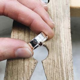 Workshop hamerslag ring maken
