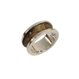 Berkenbast ring met rand
