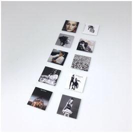 LP'S SET 2 ZWART/WIT