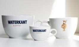 WATERKANT TASSE + UNTERTASSE