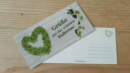 """Postkarte """"...Grüße aus der schönen Hallertau..."""""""