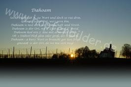 """Dahoam""Sonnenuntergang St. Anton"