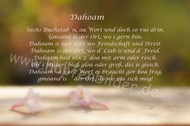 """""""Dahoam"""" Blüten"""