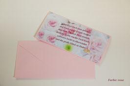 """Hochzeitskarte """"Blüten"""""""