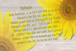 "Dahoam  ""Sonnenblumen"""