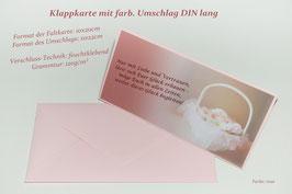"""Hochzeitskarte """"Blumenkorb"""""""