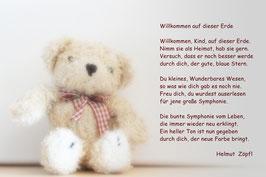 """Zur Geburt & Taufe """"Teddy"""""""