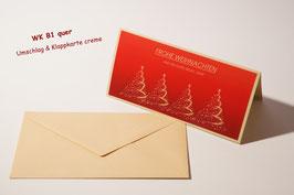 Weihnachtskarten Motiv 4WB