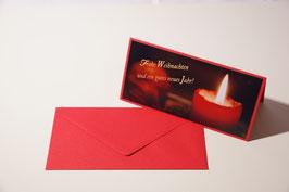 """Weihnachtskarten Motiv  """"Kerzenschein"""""""