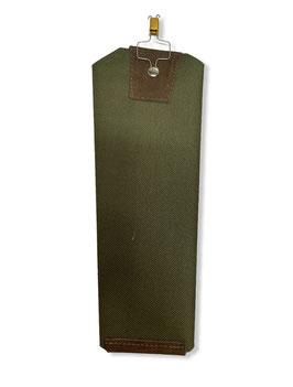 Protector de cola fabricado en lona