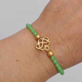 Armband Calypso apfelgrün