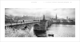 Panorama Photo Calendar black&white 2021