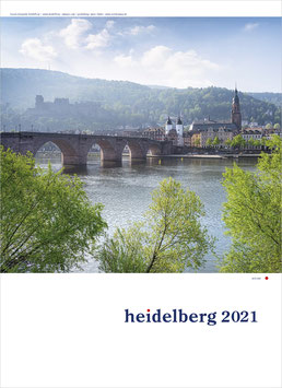 Heidelberg Photo Calendar 2021 small size