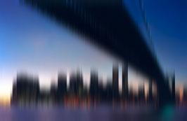 Brooklyn Bridge  |  New York in Motion  |  130x200 cm