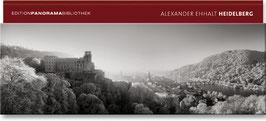 Heidelberg Panorama schwarz-weiss