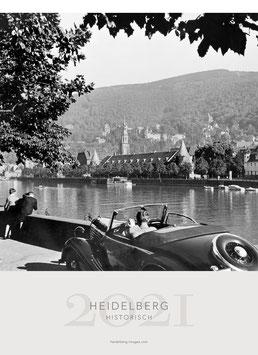 Historical Heidelberg Calendar 2021 small size