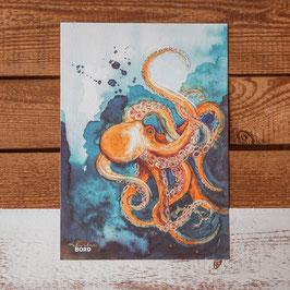 """Print A4 """"Oktopus"""""""