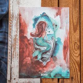 """Print A4 """"Meerjungfrau"""""""