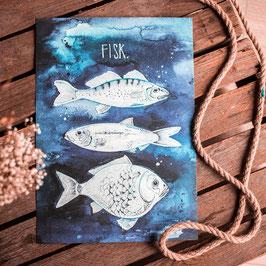 "Print ""Fisk"" A3"