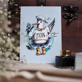 """Postkarte A6 """"Olaf"""""""