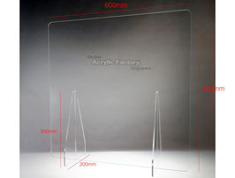 Acrylic Shield Type1 (600x600mm)