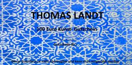 Kunst-Gutschein 100 Euro