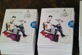 Set mit zehn illustrierten Kunstkarten     Erotik - Felix Scheinberger