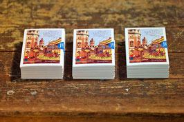 Set mit zehn Kunstkarten von Mainz           Druck-Kunst - Uwe Linde