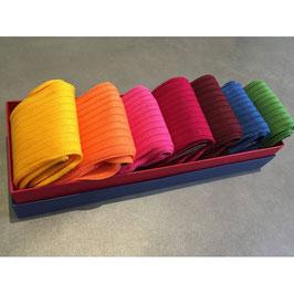 7 paires de chaussettes + 7 paires de lacets