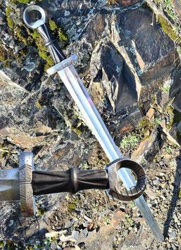 Wikinger Schwert mit einem Ring-Knauf