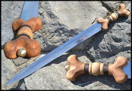 Keltisches Schwert ,La Tene, eine Replik des Schwertes aus der Eisenzeit