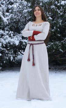 Frühmittelalterliche Kleid, Leinen