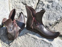 GOTHIC Leder Schuhe,Tulpe