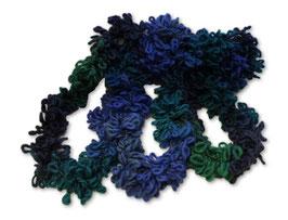 Schlingenschal blau/grün