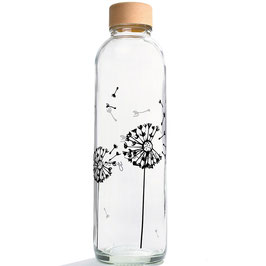 "Carry Bottles Trinkflasche aus Glas ""Release Yourself"" 0,7 l"