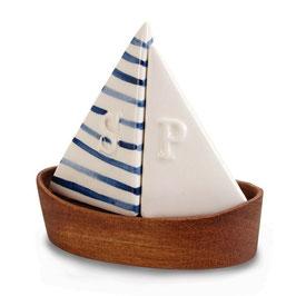 Salz- & Pfefferstreuer Segelboot