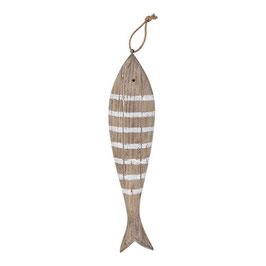 """Holz Fisch """"Nature Wood"""" zum hängen"""