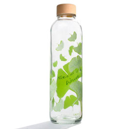 "Carry Bottles Trinkflaschen aus Glas ""Free Your Mind"" 0,7 l"