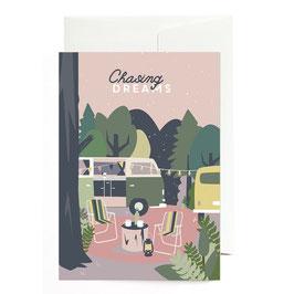 "Grußkarte ""Chasing Dreams"" mit Umschlag"