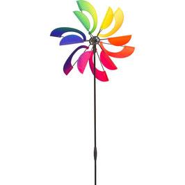 Windspiel HQ Design Line Windmill Rainbow Swirl